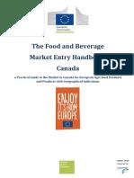Kanada - The Food and Beverage Market Entry Handbook