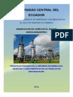 Procesos de repotenciación de una refinería