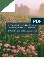 Conserving Habitat Through the Federal Farm Bill