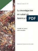 La investigación en salud en América Latina