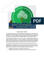 Agroecoparque financiación