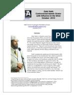 Dr. Zakir Naik - Amazing Profile