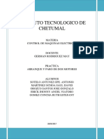 Control de Máquinas Eléctricas Reporte - Unidad 1