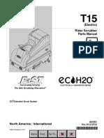Tennant T15 Parts Manual
