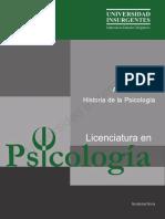 B01 Historia de La Psicología