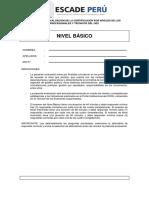 Examen Nivel Basico-escade Peru