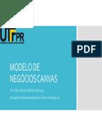 7. Modelo de Negócios Canvas