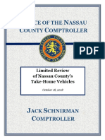 FINAL Limited Review of NC Take-Home Vehicles 10-18-18