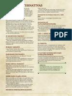 Regras Alternativas de D&D 5E