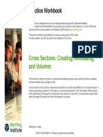 Cross Sections Creating Annotating and Volumes Practice Workbook