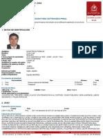 Notificación roja - Interpol