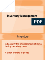 006 for Send Inventory Management