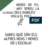 CAPSA MÀGICA. NOM DE LA CLASSE