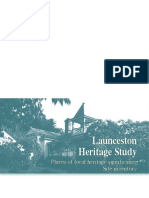 Launceston Heritage Study 2007