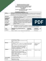 Planeacion Formacion Civica y Etica 2. Primer Bimestre