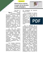 Articulo -Aprovechamiento de Los Recursos Tecnológicos Por Parte de Los Docentes en El Desarrollo Pedagógico - 2