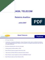 Brasil Telecom Relatório Analítico de Informações Mercadológicas