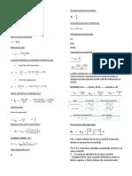 Formulas de Proba y Esta