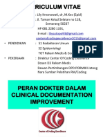 Peran Dokter Dalam Clinical Documentation Improvement