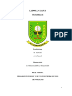 Laporan Kasus Bangsal Cholelitiasis