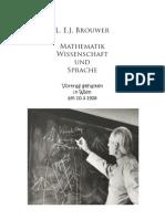 Brouwer L. E. J. - Mathematik, Wissenschaft und Sprache