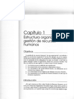 Texto Test 1 Cap. 1 Estructura Organizativa y Gestion de RRHH (Pereda &Amp Berrocal 2006)