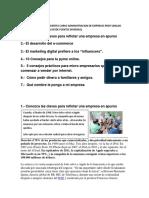 Tips de Apoyo Para Trabajos y Proyecto 2016