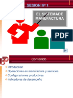 1. El Sistema de Manufactura