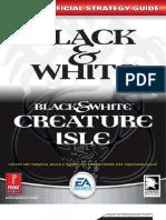 Black White Creature Isle