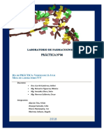 "Extracción ácida, identificación de alcaloides y cromatografía en capa fina en cáscara de Solanum tuberosum L. ""papa"""