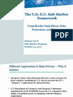 Safe Harbor Framework