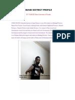 Usino Bundi Profile By Yamsob Moses 2018