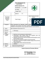 SOP Survey Perumahan Dan Lingkungn Inspeksi TTU