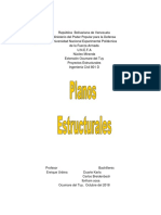 planos estructurales. UNEFA