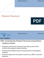 Lesson 1 Polymer Structure