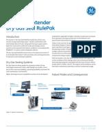 GE - System 1 Extender Dry Gas Seal Rulepak