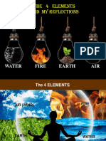 The 4 Elements and My Reflections
