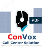 ConVox Call Center Solutions India