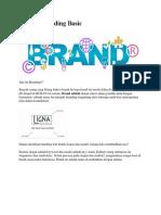 Belajar Branding Basic