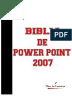 Biblia de Power Point 2007