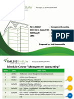 Slide Akuntansi Manajemen Kalbis W3 PDF