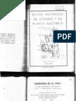 Datos Históricos de Utuado y su Planta Eléctrica - Seijo