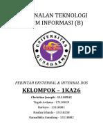 Perintah Eksternal&Internal Dos (Christian,Teguh,Naufan,Hartoyo,Ramadika