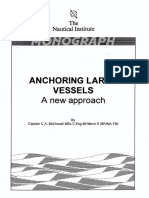 Anchoring Large Vessels