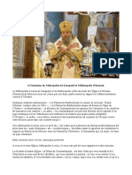 P. Andriopoulos - A l'intention du Métropolite de Zarapojié et Melitoupolis (Ukraine)