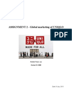 Global Marketing of UNIQLO