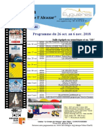 Programme Cinema