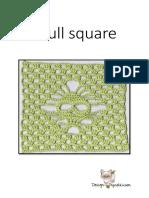 Crochet Skull Square