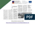 Novidades do IES García Barbón no mensual Barrios