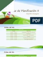 Fase de Planificación II